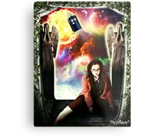 Female Doctor Who Metal Print