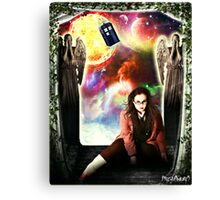 Female Doctor Who Canvas Print