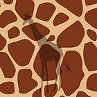 Giraffe Mania iPhone Cover  by k1m6erley