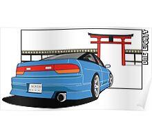 Mazda Miata - Roadster Life Poster