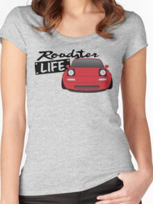 Mazda Miata - Roadster Life Women's Fitted Scoop T-Shirt