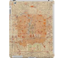 Vintage Map of Beijing China (1907) iPad Case/Skin