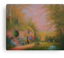 A Pipe Before bed! Canvas Print
