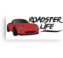 NB Mazda Miata - Roadster Life Canvas Print
