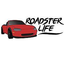 NB Mazda Miata - Roadster Life Photographic Print