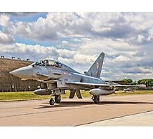 Eurofighter Typhoon T.3 ZJ805/BD Taxying Photographic Print