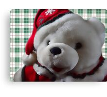 Christmas Bear Canvas Print