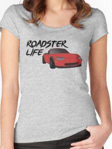 NB Mazda Miata - Roadster Life Women's Fitted Scoop T-Shirt