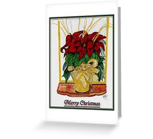 Merry Christmas, Redbubble Community Greeting Card