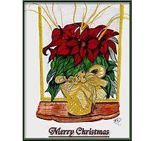 Merry Christmas, Redbubble Community Photographic Print