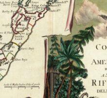 Vintage Map of Bermuda (1778) Sticker