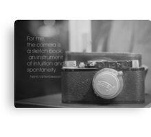 Camera Henri Cartier-Bresson Metal Print