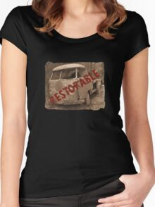 Restorable 2 Women's Fitted Scoop T-Shirt