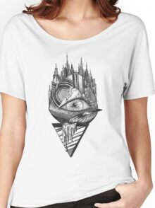 Eye Abstract Women's Relaxed Fit T-Shirt