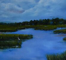 Friday On the Marsh by Nora Mackin