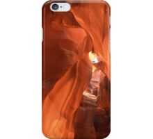 Arches in Antilope slot canyon iPhone Case/Skin