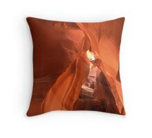 Arches in Antilope slot canyon Throw Pillow