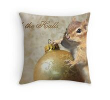 Deck the Halls - Chippy Throw Pillow