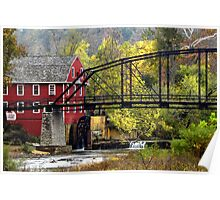 Scenic War Eagle Mills Poster