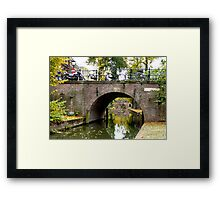 It is time for another walk in Utrecht Framed Print
