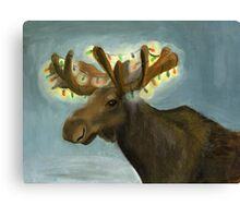 Moose for larger print Canvas Print