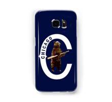 Bear with Bat_white Logo - Polygonal Samsung Galaxy Case/Skin
