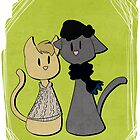 Sherlockian Cats by imbusymycroft