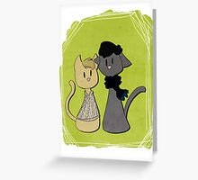 Sherlockian Cats Greeting Card