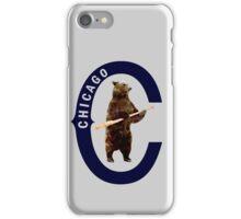 Bear with Bat - Polygonal iPhone Case/Skin