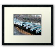 Boats at Rest Framed Print