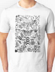 One Direction tattoos Unisex T-Shirt