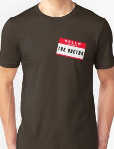 Hello, I'm The Doctor Unisex T-Shirt