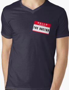 Hello, I'm The Doctor Mens V-Neck T-Shirt