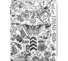 One Direction tattoos iPad Case/Skin
