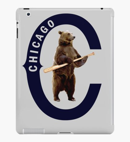 Bear with Bat iPad Case/Skin