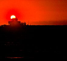 Red Sun St.Kilda by Shaynelee