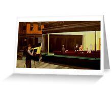 Hopper on Hopper Greeting Card