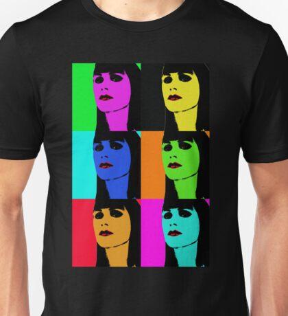 Zooey Deschanel Pop Art Tee Unisex T-Shirt