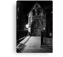 gothic building Canvas Print