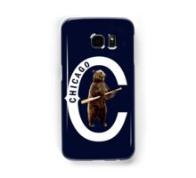 Bear with Bat-White Logo Samsung Galaxy Case/Skin