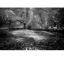 Boathouse  Photographic Print