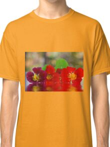 Three Nasturtiums Classic T-Shirt