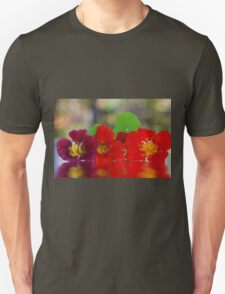 Three Nasturtiums Unisex T-Shirt