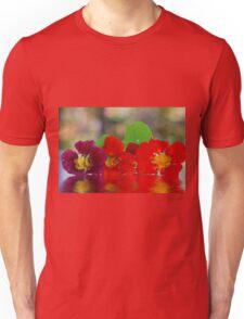 Three Nasturtiums Unisex T-Shirt