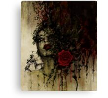 To be a rose .. Canvas Print