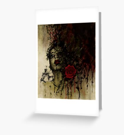 To be a rose .. Greeting Card