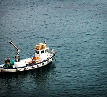 Boat at Anchor by Stucko23