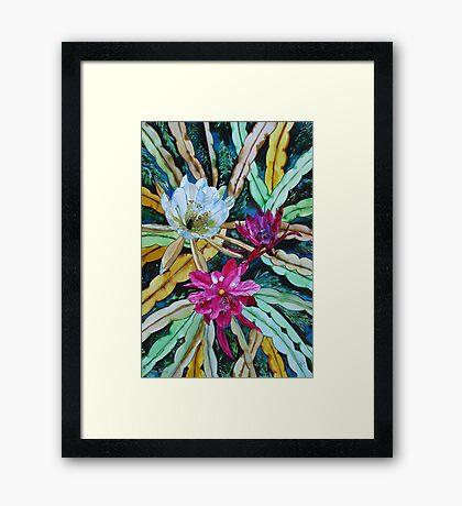 LIVING COLOURS OF NATURE.. Framed Print