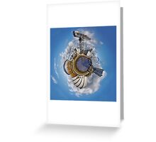 Planet Glasgow Greeting Card