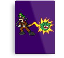 Luigi's Boo-Busters Metal Print